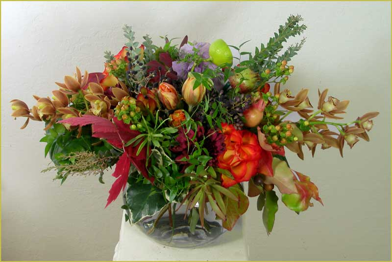 Holiday Celebration Bouquet by Yukiko