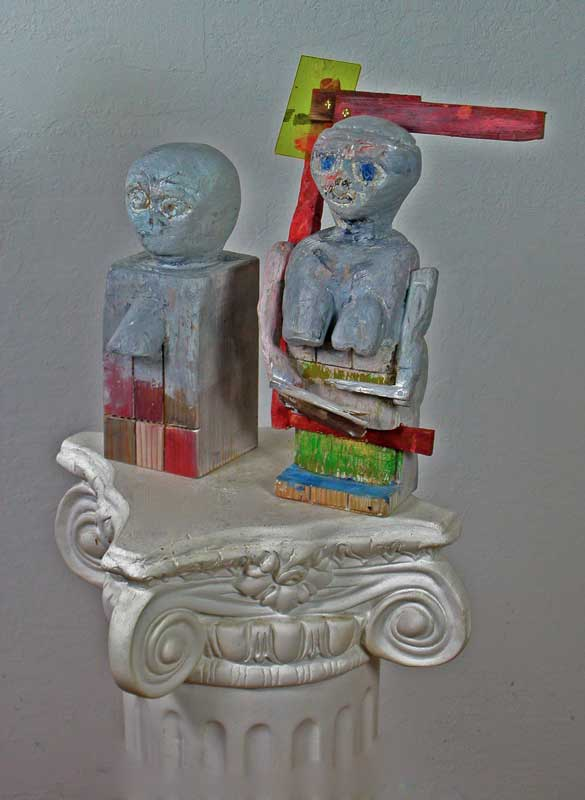 Two Maquettes becoming Woman I