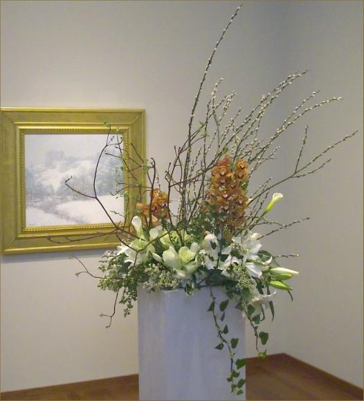Winter's Festival by Metcalf with bouquet by Yukiko