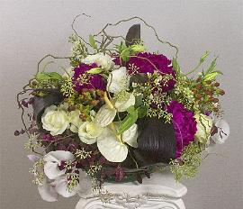 celebration floral centerpiece - large and luscious