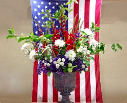 5 Foot Memorial Day Bouquet 2016