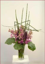 mokara orchid bouquet for larkspur client