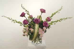 sophisticated rose bouquet